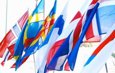 Alla Nordiska flaggor