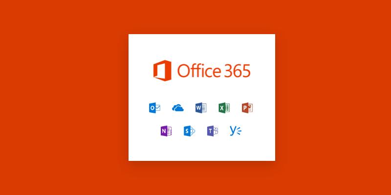 Office 365 logga och ikoner